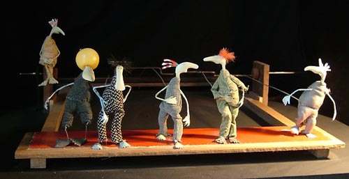 Cabaret Mechanical Theatre, Lucy Casson, Grooving