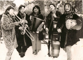 Deborah M. Withers The Fabulous Dirt Sisters from The Feminist Music Archive