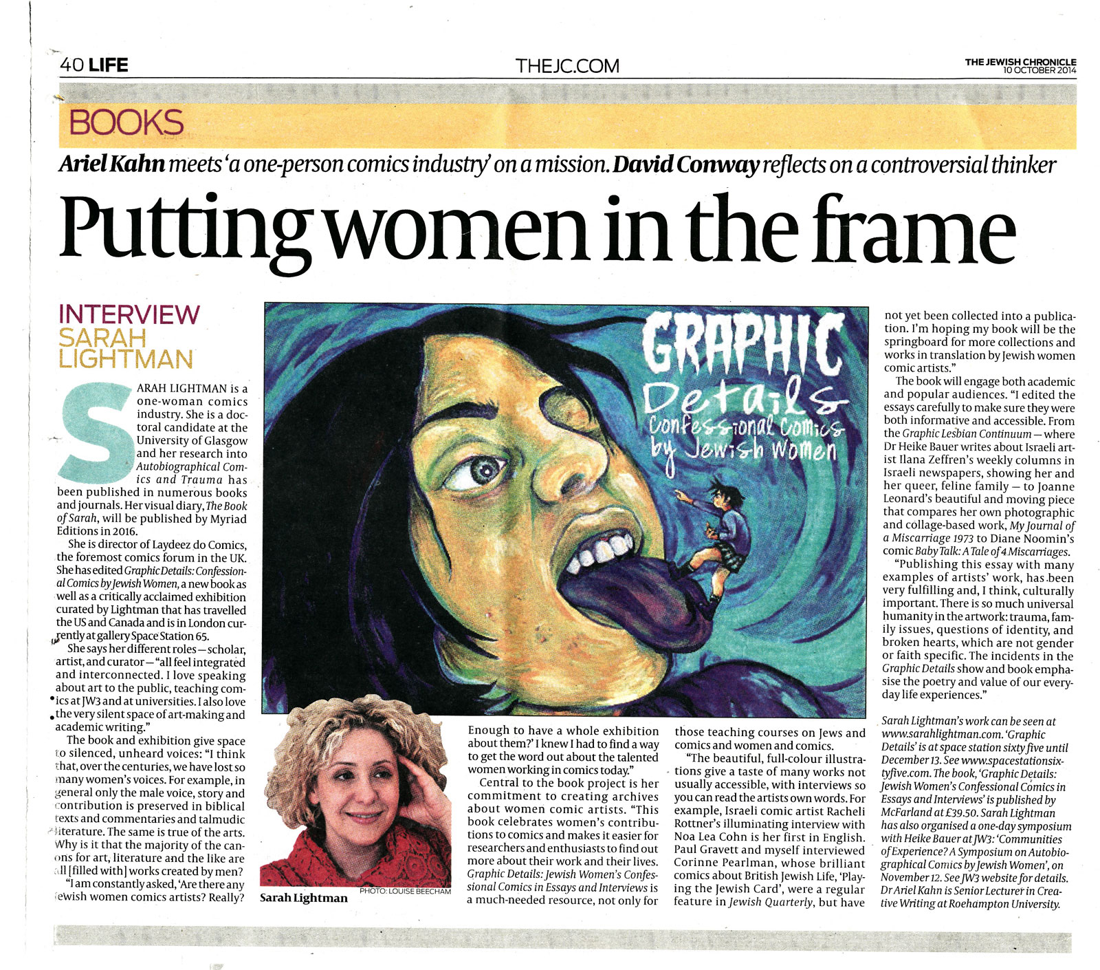 Putting Women in the Frame