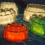 Jelly Mould Bulkhead Light by Charlotte Squire